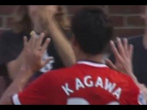 香川真司タッチ集 1アシストVSレアルマドリード Kagawa VS Real Madrid 2014年8月2日