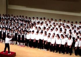 【合唱】卒業式といったらやっぱりこれ。今でも歌われてるんですねぇ。